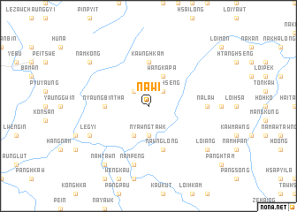map of Nawi