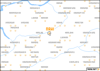 map of Na-wi
