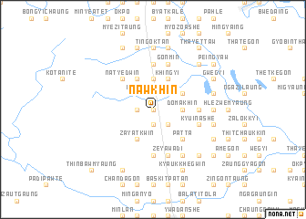 map of Nawkhin