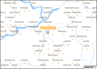 map of Nawn-ang