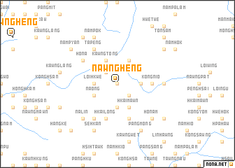 map of Nawngheng