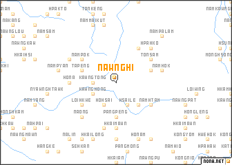 map of Nawnghi