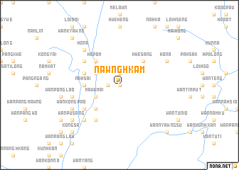 map of Nawnghkam