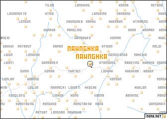 map of Nawnghka
