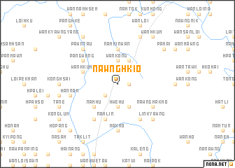 map of Nawnghkio