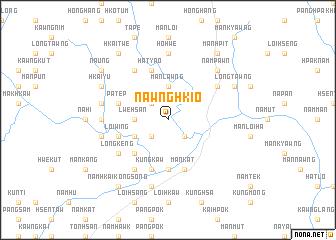map of Nawnghkio