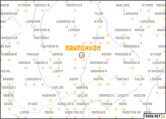 map of Nawnghkom