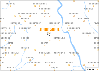 map of Nawng Hpa