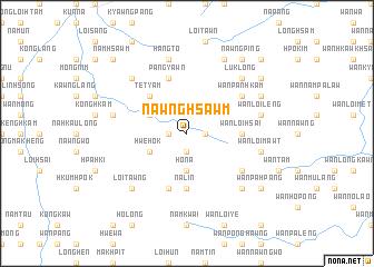 map of Nawng-hsawm