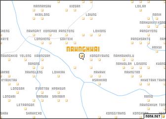 map of Nawnghwai