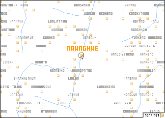 map of Nawnghwe