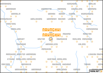 map of Nawng Hwi