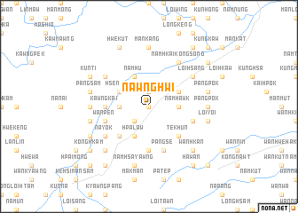 map of Nawnghwi
