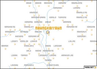map of Nawngkaiyawn
