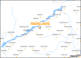 map of Nawnglawng