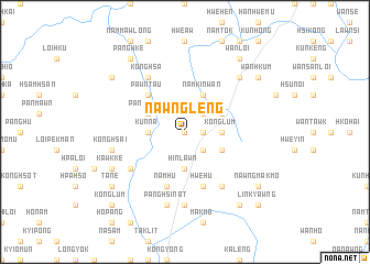 map of Nawng Leng