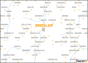 map of Nawnglwin