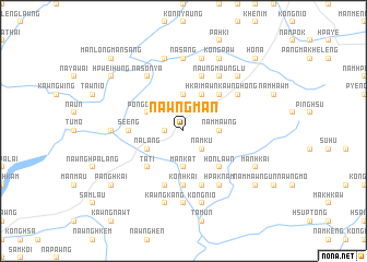 map of Nawng-man