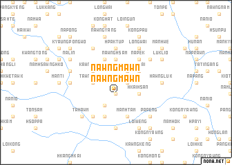 map of Nawngmawn