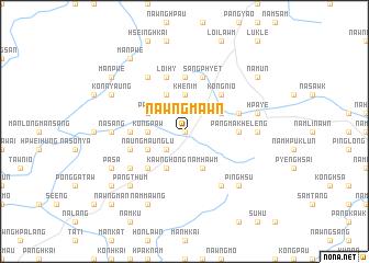 map of Nawngmawn