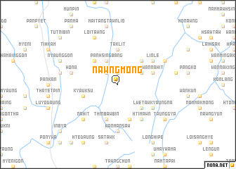map of Nawngmong