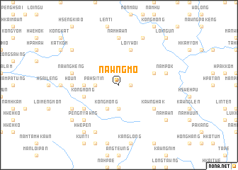 map of Nawng-mo