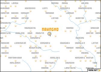 map of Nawng-mo