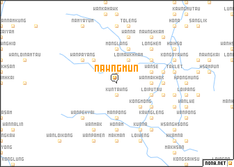 map of Nawngmun