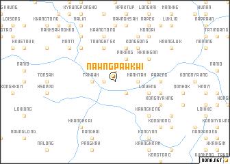 map of Nawngpawkwi