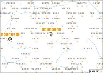 map of Nawngsam
