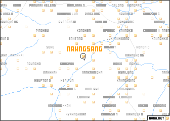 map of Nawng-sang