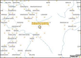 map of Nawngsāng