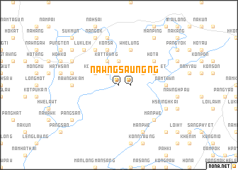 map of Nawng-saung