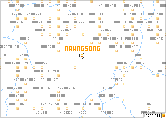 map of Nawng-song