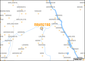 map of Nawngtao