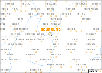 map of Nawngwop