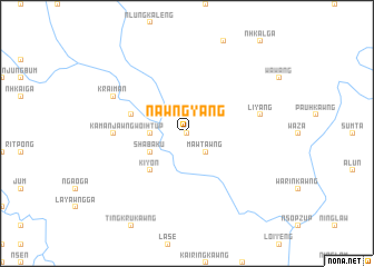 map of Nawngyang