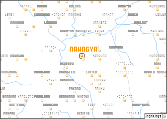 map of Nawng-ya