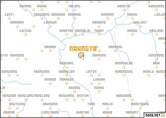 map of Nawng-ya