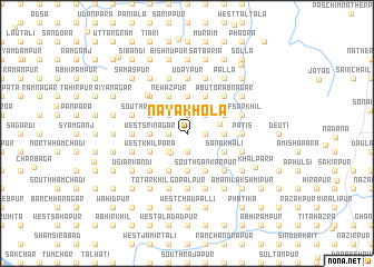 map of Nayākhola