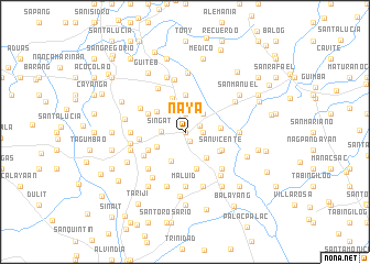 map of Naya