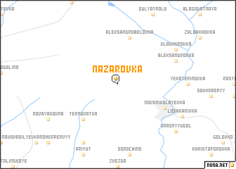 map of Nazarovka