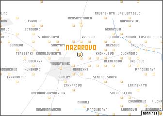 map of Nazarovo