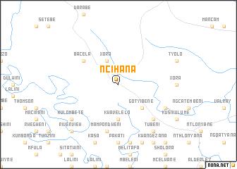 map of Ncihana