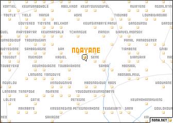 map of Ndayané