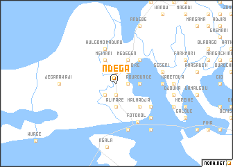 map of Ndéga