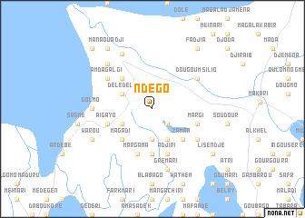 map of Ndégo