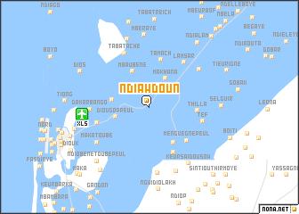 map of Ndiawdoun