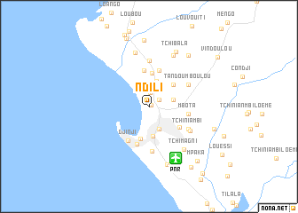 map of Ndili