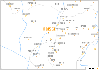 map of Ndissi